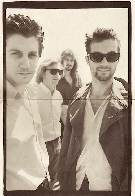 Thin White Rope, ca. 1990: Roger Kunkel, John Von Feldt, Matthew Abourezk, Guy Kyser